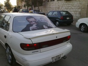 King on cars