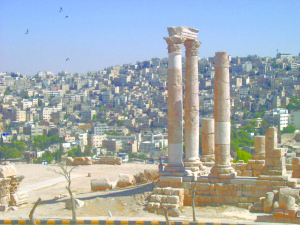 Money Can Never Create Anything As Beautiful And Meaningful The Citadel Overlooking Downtown Amman Its One Of Oldest Continuously Inhabited Places