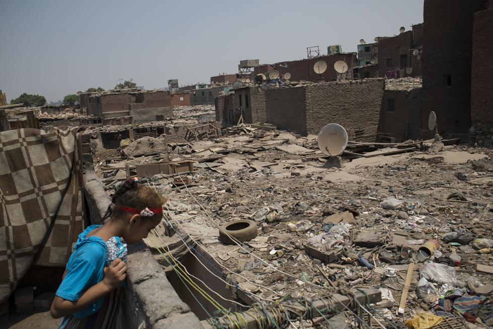 Khokha st. Cairo Slums Women Egypt