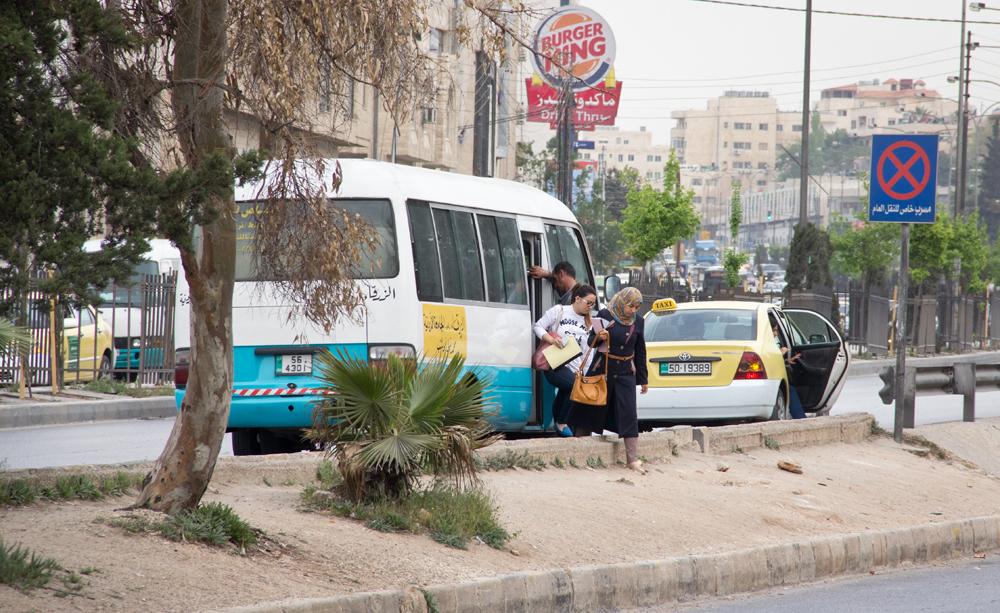 مواصلات جامعات الأردن