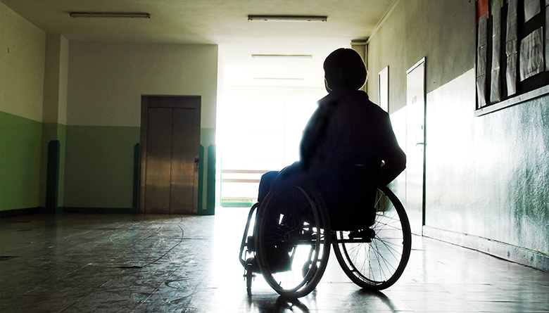 women disability