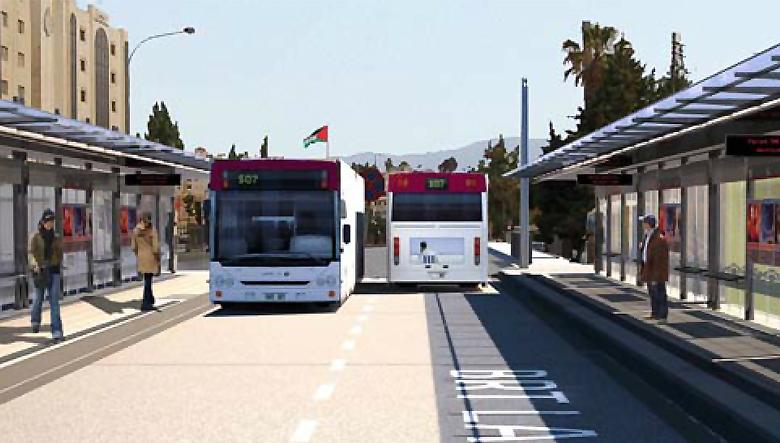 amman brt الباص السريع عمان