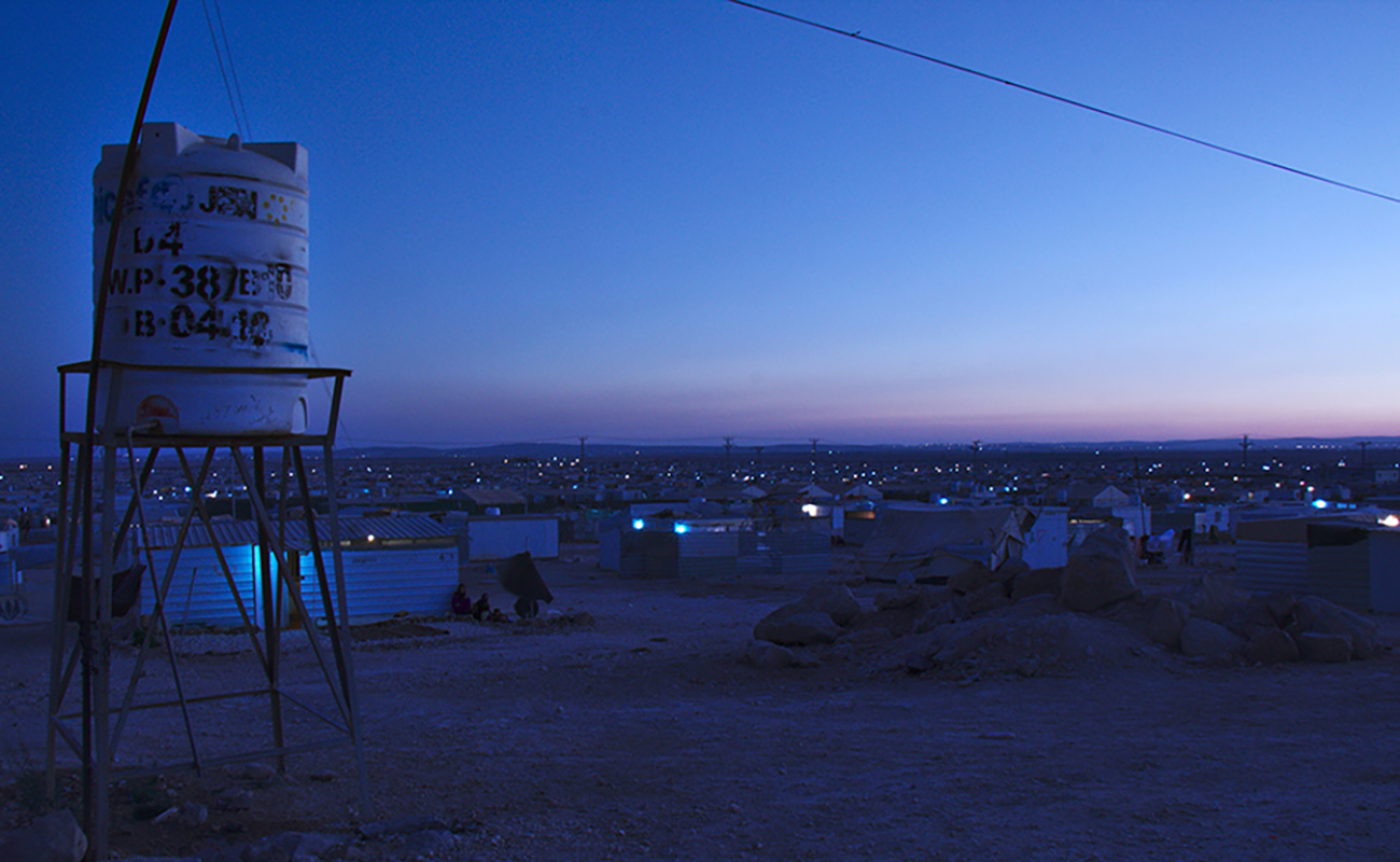 مخيم الزعتري zataari camp