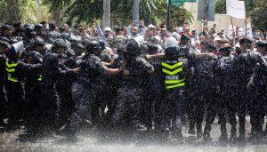 اعتصام المعلّمين الأردن