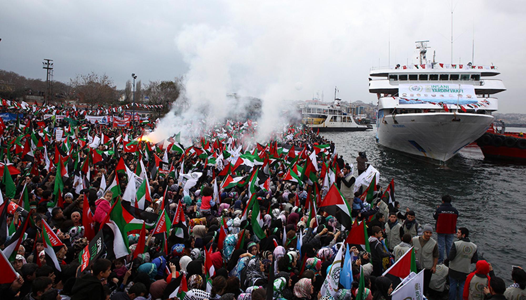 سفينة مافي مرمرة أسطول الحرية