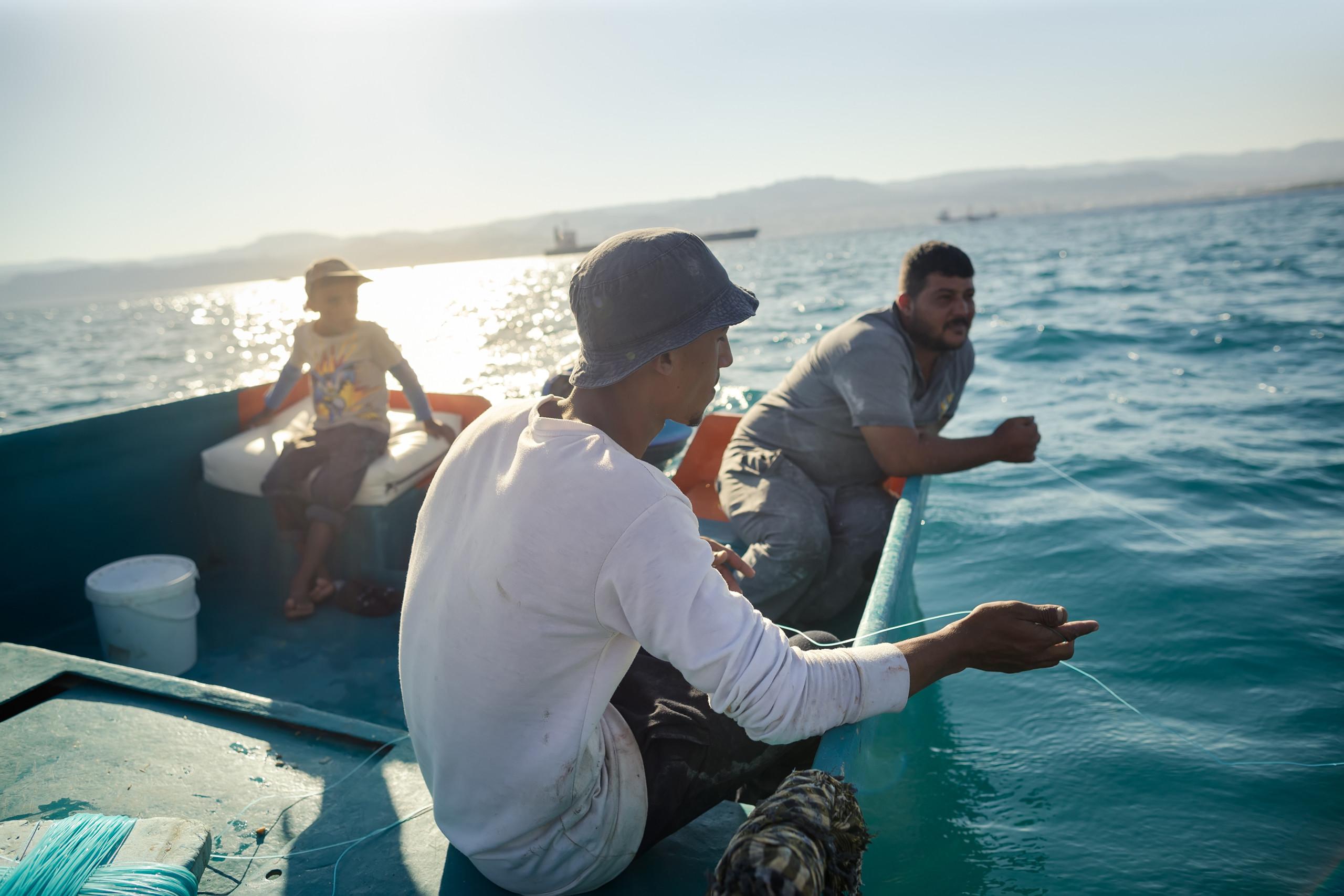 العقبة صيد سمك