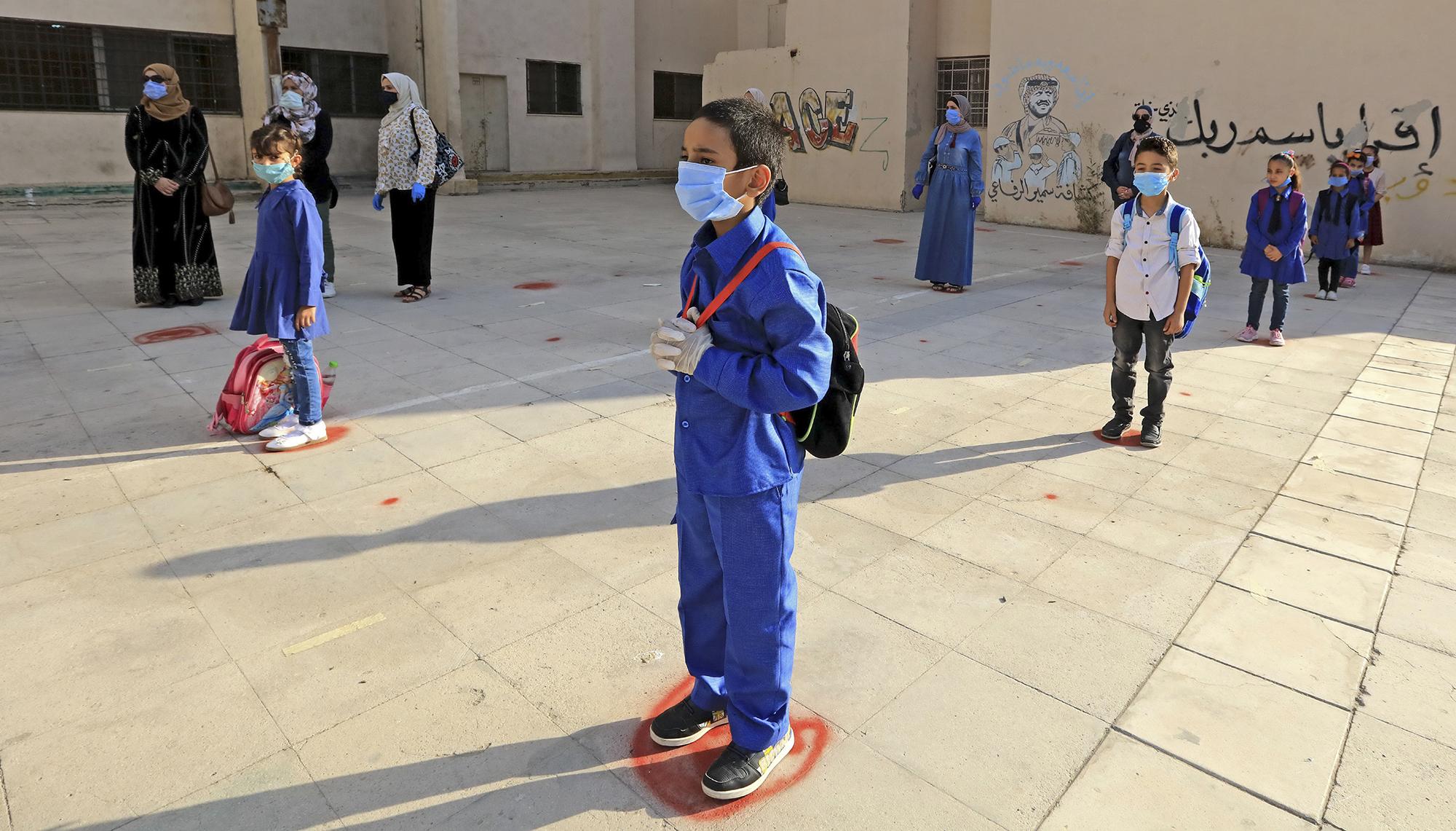 عودة المدارس في كورونا