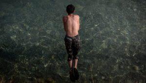السباحة في سيل حسبان