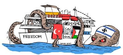 BASTARDSGaza_aid_ship_attacked_by_Latuff2
