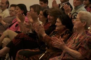 Audience at Beit Al-Ruwwad