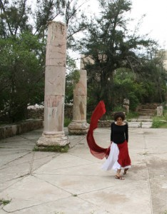 Lana Nasser/Artemis in Jerash