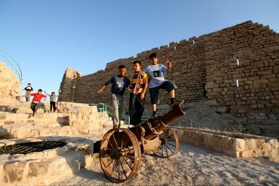 Kids in Kerak